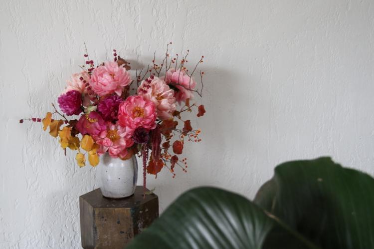 peonies wedding bouquet inspiration flowers