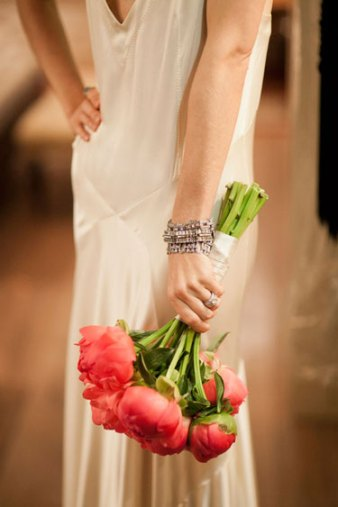 Wedding Flowers Bouquet Inspiration Pinks Corals