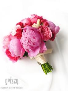 Wedding Flower Ideas Pink Coral Peonies