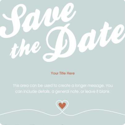 save-the-date ecard 2012