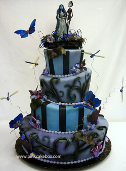 Crazy Wedding Cake Gothic Untraditional