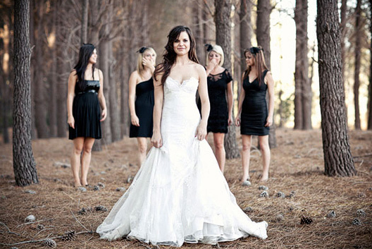 Non Matching Bridesmaids Inspiration