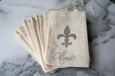 Wedding Favour Inspiration French Merci