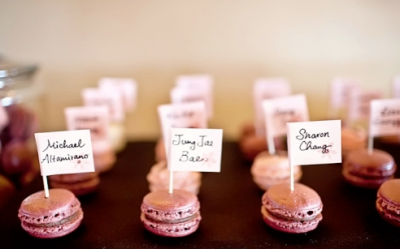 French Wedding Favours Macaroons