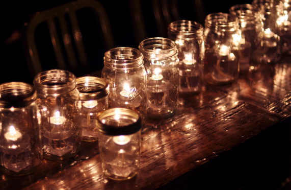 Wedding Decor Mason Jars Lighting