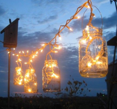 Wedding Decor Outdoor Lighting DIY
