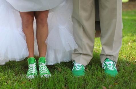 Wedding Shoes Converse