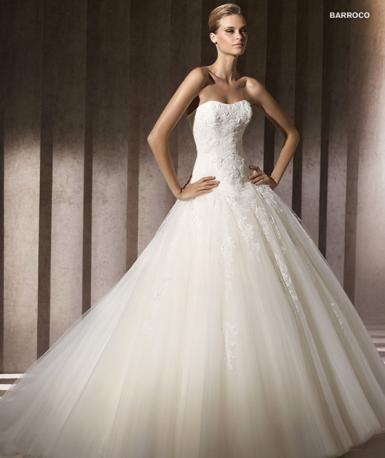 Wedding Dresses Princess 2012