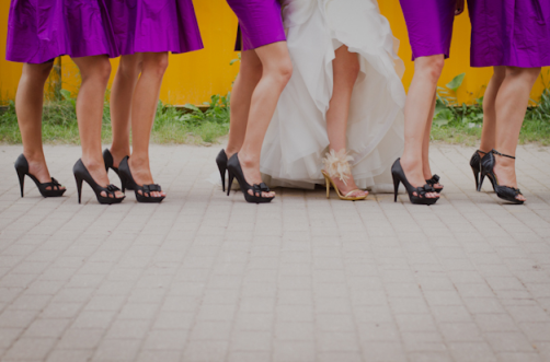Magenta Bridesmaids