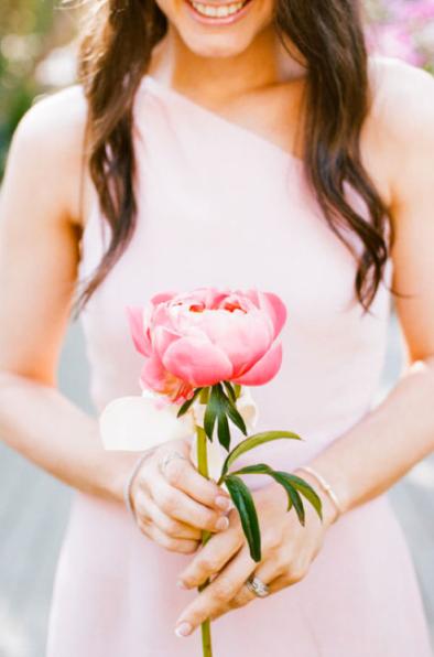 Peonies Wedding Bridesmaids