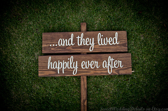 Romantic Wedding Sign 2012 And you can 39t deny the sentiments of this