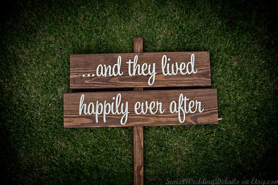 Romantic Wedding Sign 2012