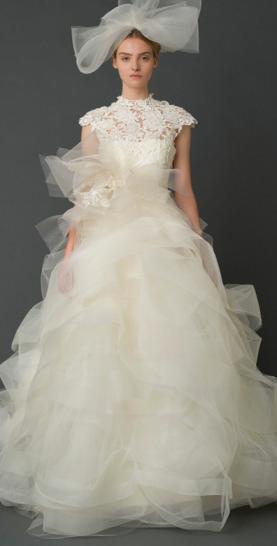 Lace Wedding Dress Bride 2012 2013