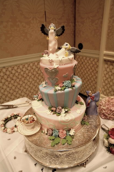 Disney Fantastic Wedding Cake Designs