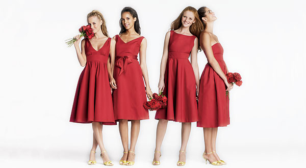Bridesmaids Dresses unmatching