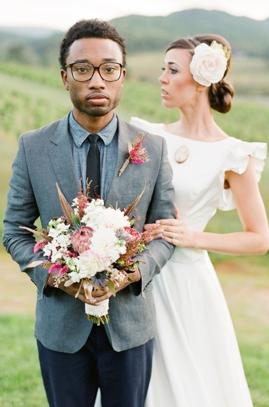 Wedding Groom Suit Grey