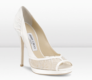 Bridal Shoes White Satin Pumps Heels