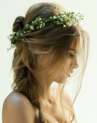 Bride Hair Flower Headband