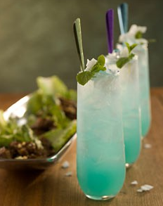 Wedding Inspiration Blue Themed Drinks