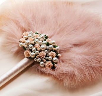 Bridal Accessory Fan Vintage