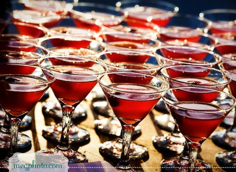 Wedding Cocktails Autumnal Reds 2012 2013