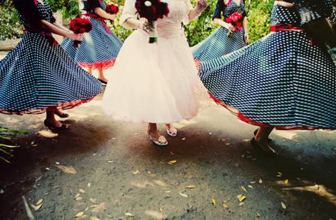 Short bride dress ideas bridesmaids 2012 2013