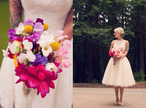 Wedding Tea Length Dresses