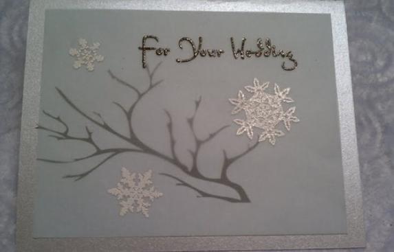 christmas winter wedding ideas invites
