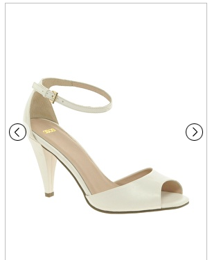 Bridal Shoes Budget Value White