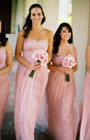 Bridesmaids Pink Full Length