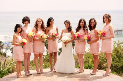 Bridesmaids Dress Ideas Pinks Short