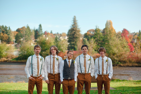 Wedding Ideas Grooms Brown Casual Suit