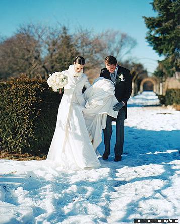 Wedding Ideas Winter Coverup