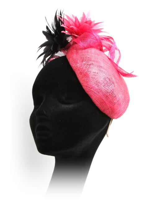 Wedding Guests Headwear Pink Hat