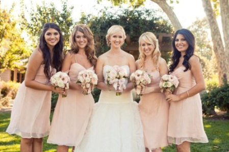 Neutral Bridesmaids Dress Ideas