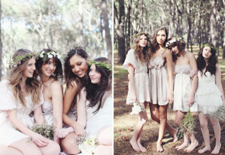 Inspiration Nude Bridesmaids Dresses 2012 2013