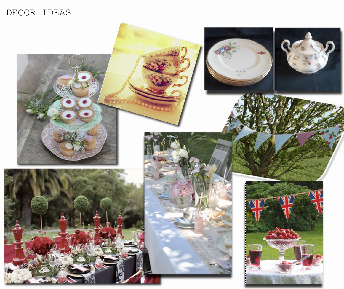 Hunted wedding inspiration afternoon tea for Afternoon tea decoration ideas