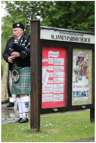 Wedding Ideas Music Bagpipes Piper