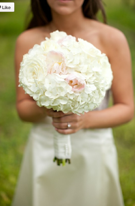 Wedding Ideas White Bridal Bouquet