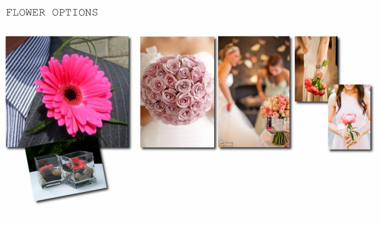Wedding Inspiration Pinks Flowers Floral