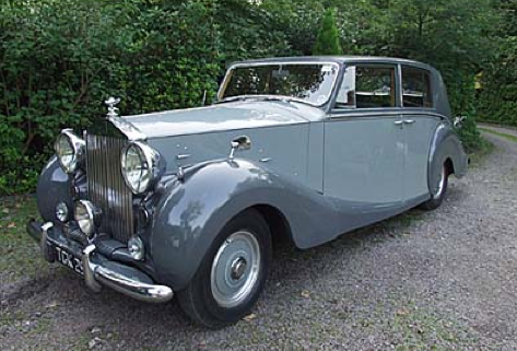 Classic Wedding Cars Rolls