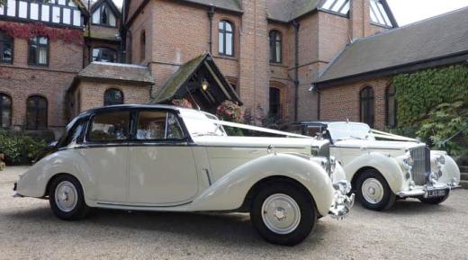 Wedding Transport Vintage Vehicles Bentleys Ivory
