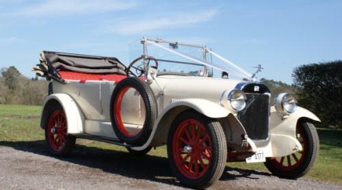 Classic Wedding transport Ivory 1920s