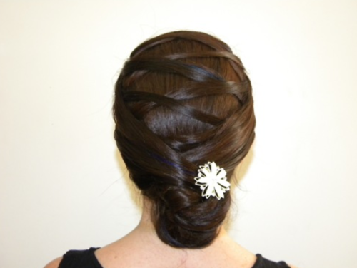 Wedding Hairstyle Inspiration Bun Style
