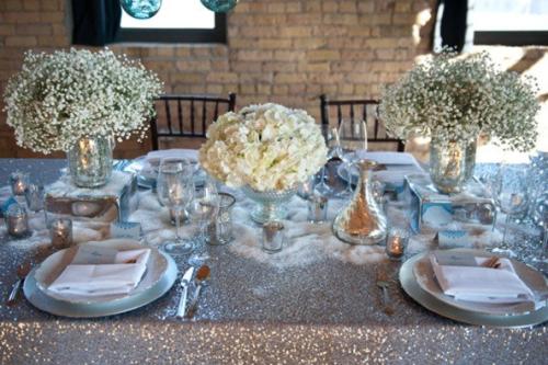 Wedding Table Settings White