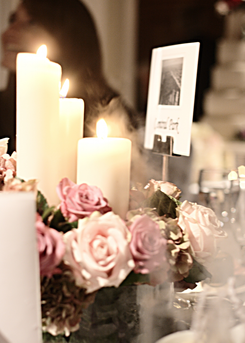 Hunted Wedding Decor Table Centrepiece Ideas