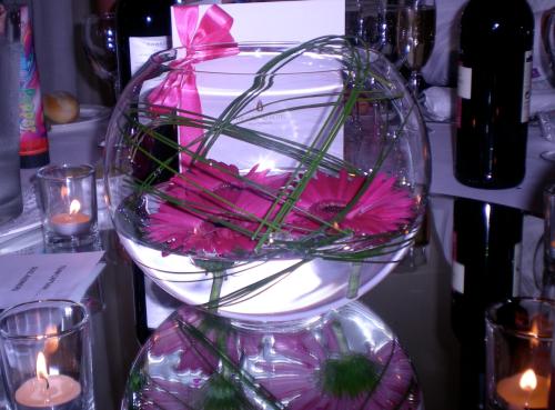 Wedding Centrepiece Glass Bowl