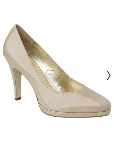 Bridal Shoes Classic Courts Mid Heel