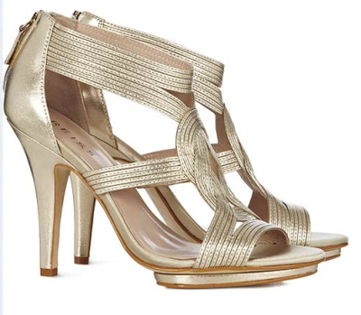 Wedding Shoes Strappy Chic Mid Price