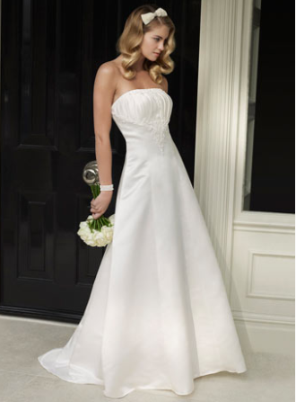 Wedding Dresses Bridal Gowns Strapless Low Cost
